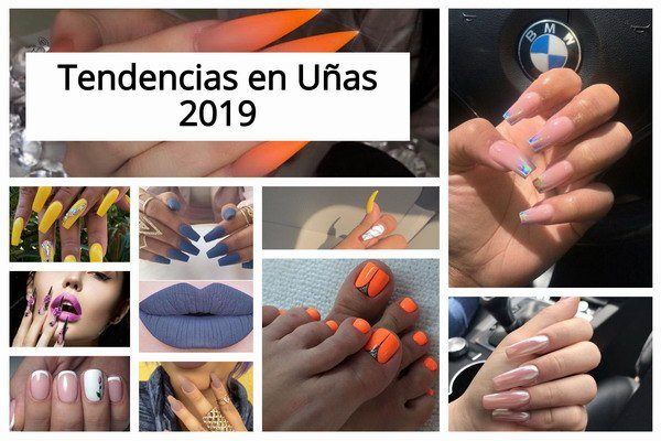 uñas decoradas 2019